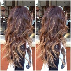 Balayage Hair Color, with a touch on Ombre. - xoNicole Marie