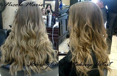 balayage hair color with a touch on ombre   xonicole marie